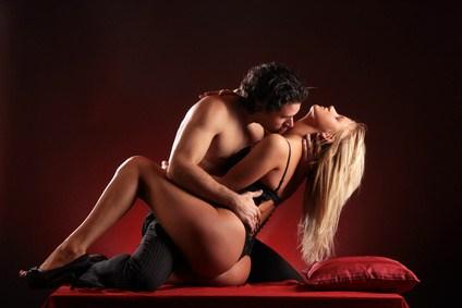 Female orgasm by foreplay