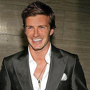 David Beckham Séducteur