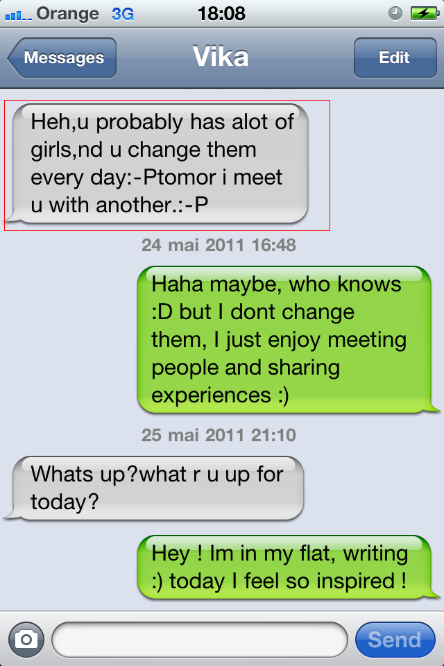 Comment flirter avec une fille par sms