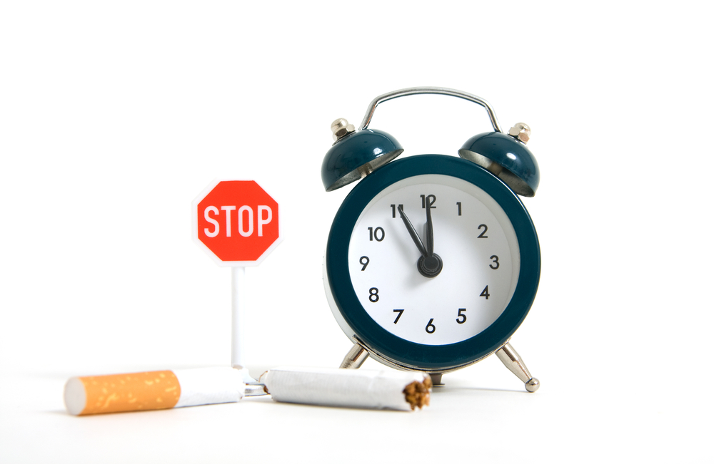 Cesser de fumer sur le délai tardif la grossesse